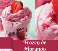 Receita de Frozen de Morango Saudável