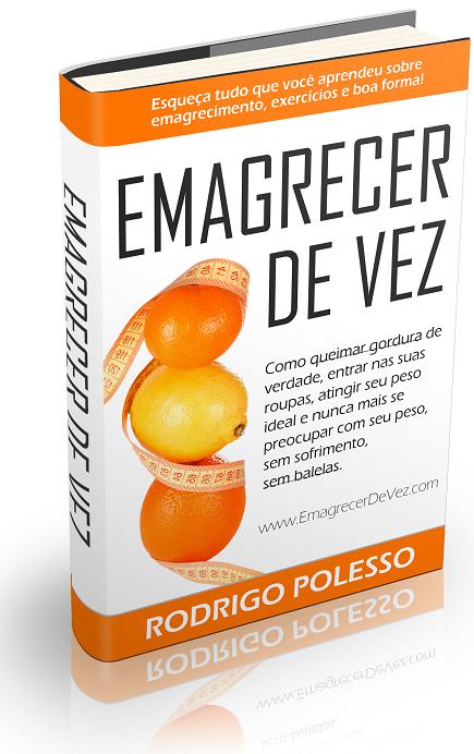 Comprar Livro Emagrecer de Vez Rodrigo Polesso
