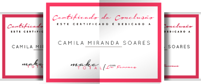 Certificado Curso Make Total